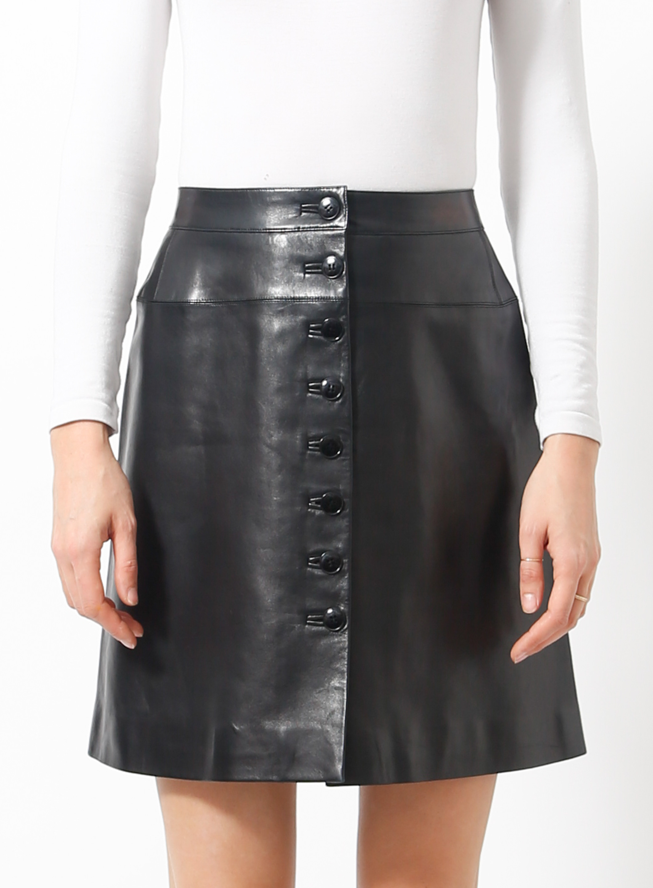 d7f20903f4 '90s Leather Skirt