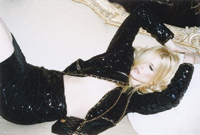 Claudia Schiffer, styled by Suzanne Koller and photographed by Katja Rahlwes, Self Service Issue no27