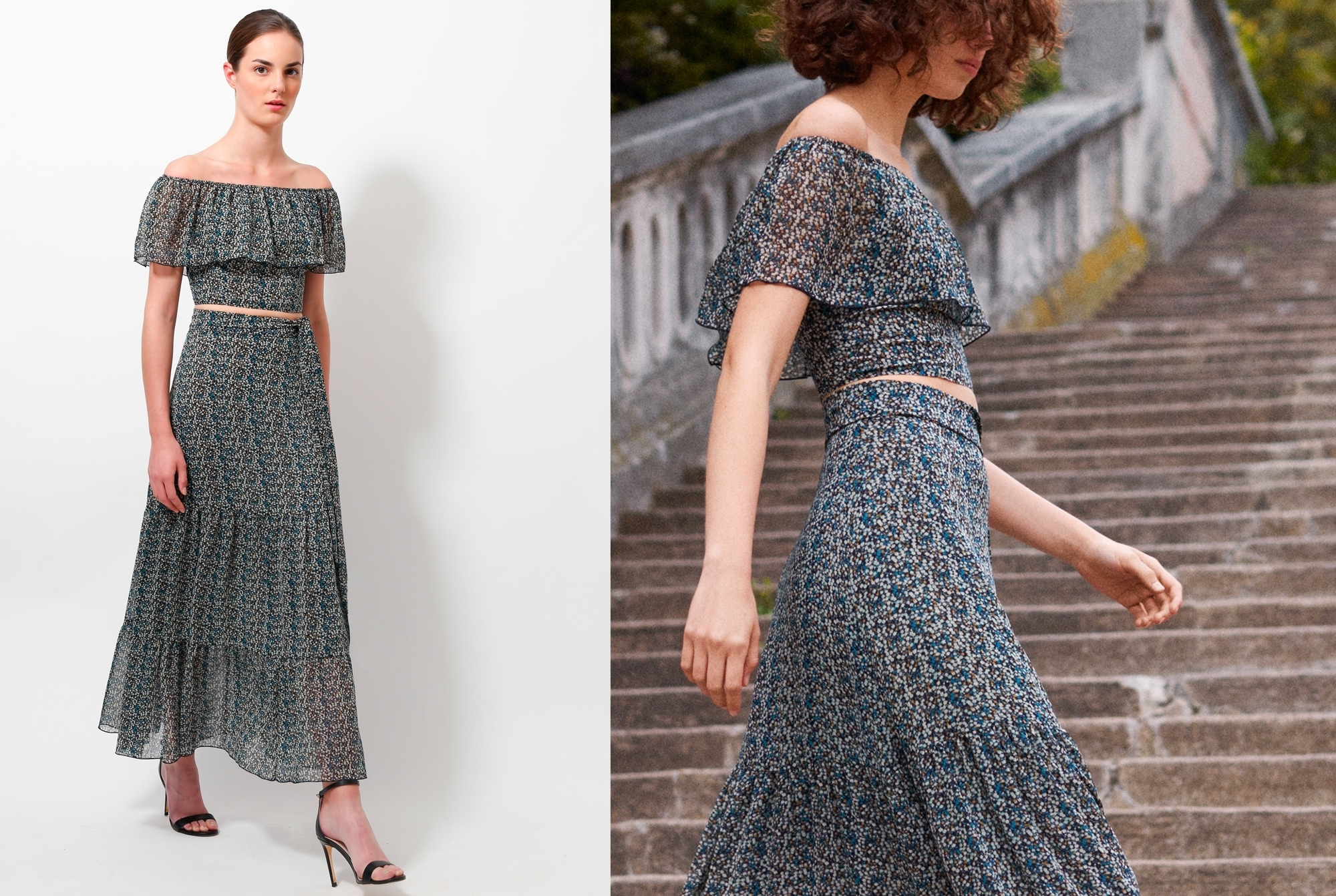 The Loulou Ensemble is the perfect bohemian piece for those long summer days and nights