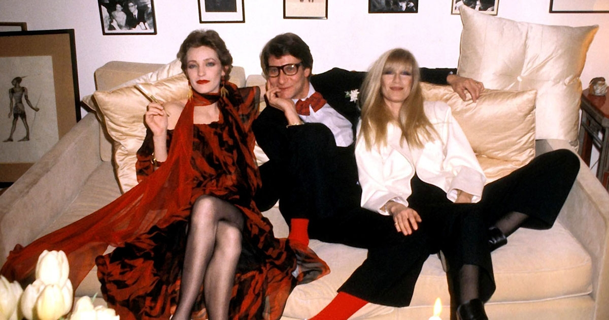Along with Loulou de la Falaise, Catroux was one of Saint Laurent's closest friends. She embodied the couturier's feminine ideal and the androgynous woman