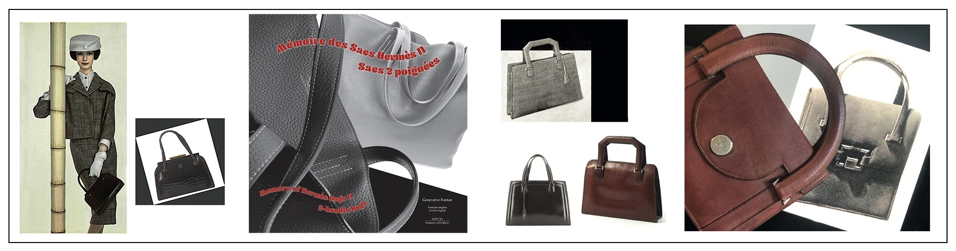 Memory of Hermès Bags II : 2-Handle Bags By Genevieve Fontan