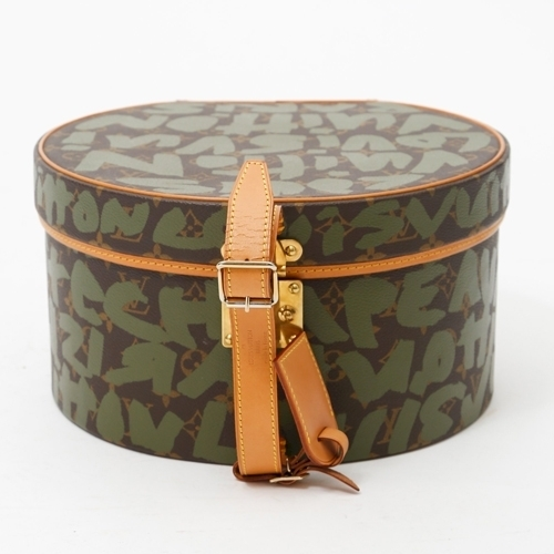 Louis Vuitton Rare Stephen Sprouse Graffiti Hat Box