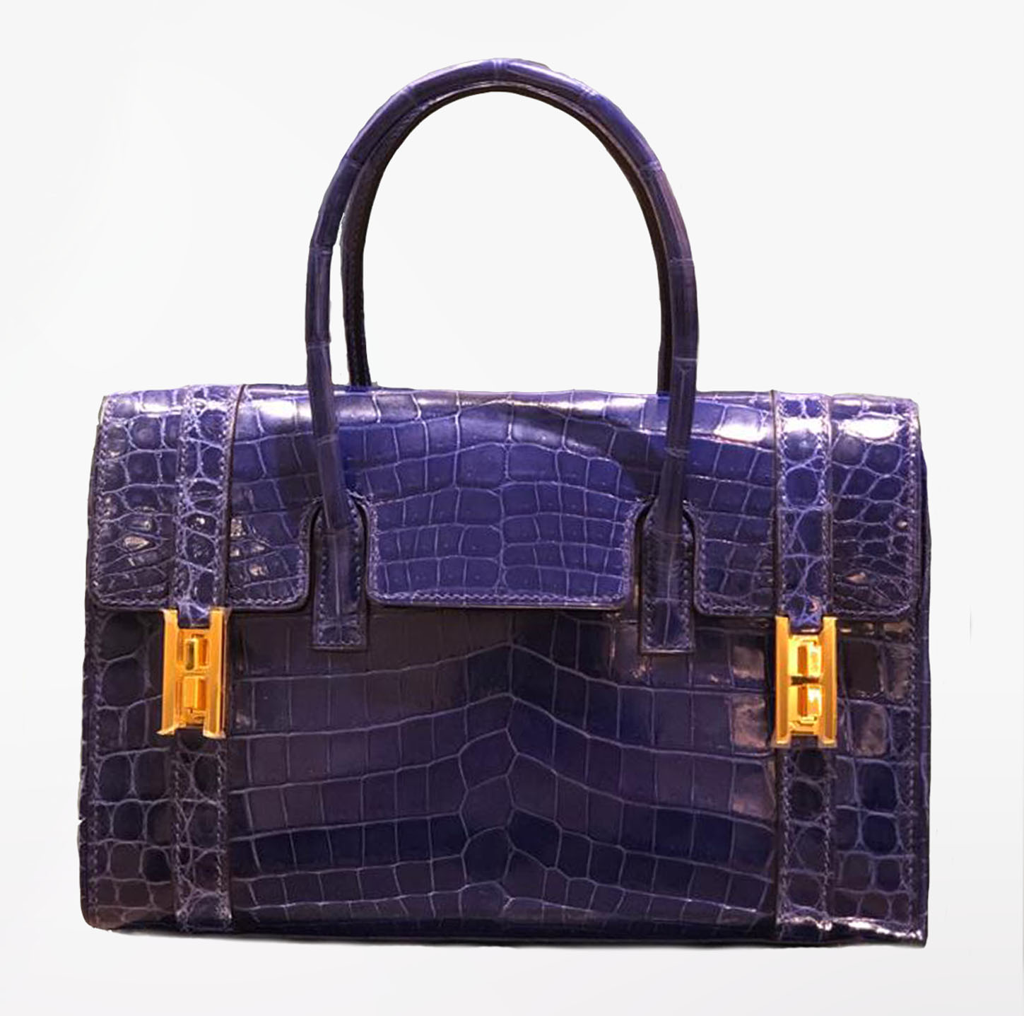 RARE Electric Blue Drag Bag